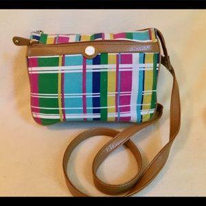 Relic Plaid Crossbody Bag